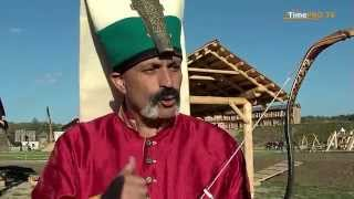 getlinkyoutube.com-Shooting from the Turkish bow / Стрельба из турецкого лука