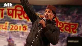 getlinkyoutube.com-Famous Kumaoni Comedian | Mangal Singh Chauhan | Uttarayani Mela 2015 Bageshwar (Uttarakhand)