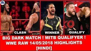 Dark Match(6 ManTag)   WWE Monday Night Raw 14th May 2018 Highlights [Hindi]   Raw 14/05/2018