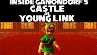 getlinkyoutube.com-Ocarina of Time 3D Major Glitch #2: How to enter Ganondorf's Castle as Young Link