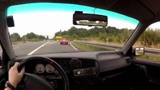 getlinkyoutube.com-Test Drive VW Golf MK3 20 Years Anniversary (20 Jahre Jubi) GTI from Drivers POV | GoPro Hero 2 HD