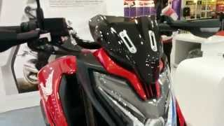 getlinkyoutube.com-Honda CX 01 concept - walk around Auto Expo 2014