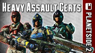 getlinkyoutube.com-(OUTDATED) Heavy Assault Most Useful Certifications Guide (PlanetSide 2)