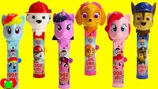 getlinkyoutube.com-Paw Patrol and My Little Pony Lolli Pop Ups