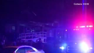 Un incendio puso a correr a los equipos de emergencia