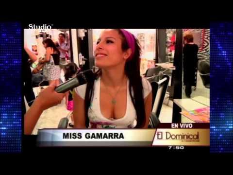 Miss Colita Gamarra Reportaje el dominical Part I con Studio Jeans