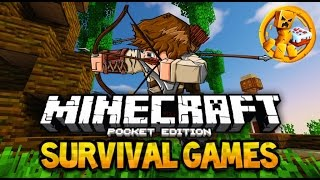 "getlinkyoutube.com-Minecraft PE: Lifeboat Survival Games #2 ""1st Deathmatch Win!"""