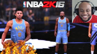 getlinkyoutube.com-NBA 2K16 My Team - Nick Young Brings The Heat [PS4 Gameplay]