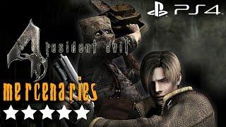 getlinkyoutube.com-Resident Evil 4 (PS4) - Mercenaries Gameplay Walkthrough 5 Stars All Stages (All Characters)