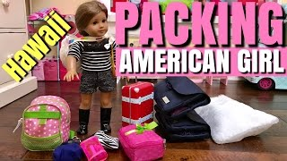 getlinkyoutube.com-Packing American Girl For Hawaii