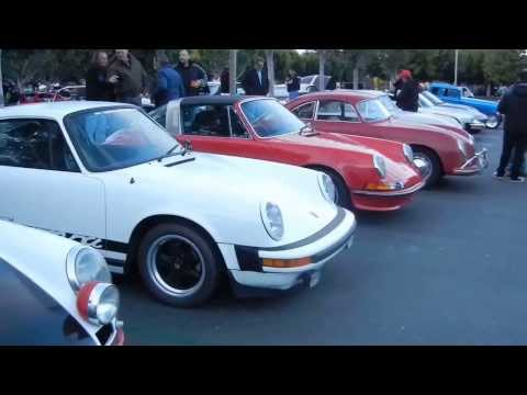 Porsche Row at Cars and Coffe