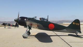 getlinkyoutube.com-Pearl Harbor flight featuring the PoF Mitsubishi A6M5 Zero