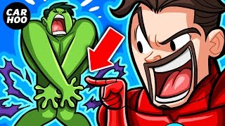 getlinkyoutube.com-What If Hulk Ripped His Pants #4 【 Superheroes Parody 】