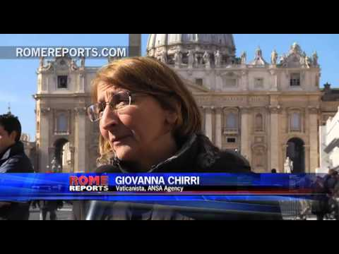The reporter who broke the story about the Pope's resignation
