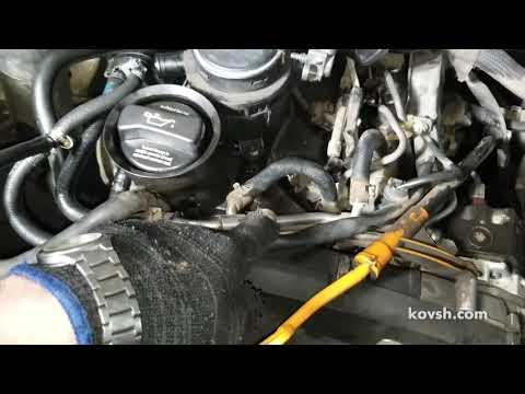 Мудрённая система топливоподачи на Volkswagen Crafter Common Rail 2.5TDI, BJL