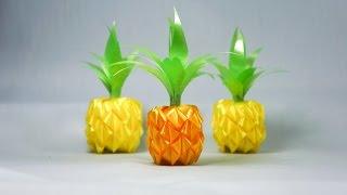 getlinkyoutube.com-วิธีพับเหรียญโปรยทานสับปะรด แบบที่ 2 (Pineapple) - 108 Ribbon