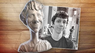 getlinkyoutube.com-Art of Sculpting: Caricature - Part 1