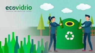 getlinkyoutube.com-¿Cómo se recicla el vidrio? | Aprende a reciclar vidrio con Ecovidrio