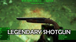 getlinkyoutube.com-Fallout 4 - Legendary Shotgun (unlimited ammo capacity)