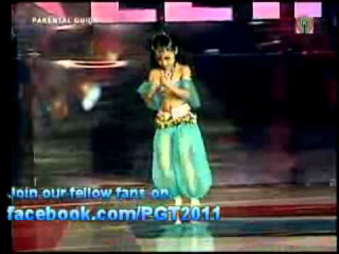 Franceska Abigail Basalo Belly Dancing Pilipinas Got Talent 2011 Season 2
