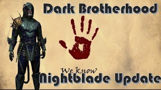 Class Balance Update - Nightblade for ESO Dark Brotherhood