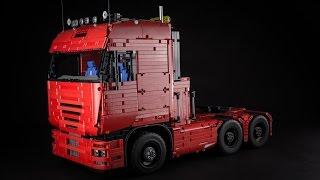 getlinkyoutube.com-Lego Technic Tractor Truck