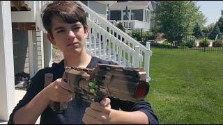 getlinkyoutube.com-Nerf War: Sniper vs Shotgun