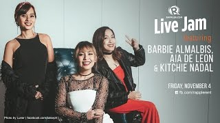 getlinkyoutube.com-Rappler Live Jam: Aia de Leon, Barbie Almalbis, Kitchie Nadal