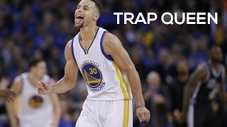 getlinkyoutube.com-Fetty Wap - Trap Queen | Curry vs Pelicans Opening Night | 2015-16 NBA Season