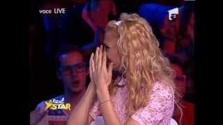 getlinkyoutube.com-Je T'aime Letty ( Letitia Roman) a lasat Juriul In Lacrimi la Next Star Finala De Popularitate