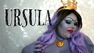 getlinkyoutube.com-URSULA MAKEUP HALLOWEEN TUTORIAL ♥