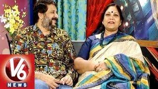 getlinkyoutube.com-Actress Bangalore Padma And Actor Arun Kumar In Life Mates || V6 News