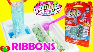 getlinkyoutube.com-Yummy Nummies Fruity Ribbons Maker Mini Kitchen Magic