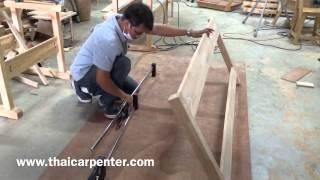 getlinkyoutube.com-การทำเตียงนอนไม้