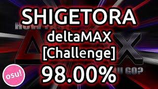 getlinkyoutube.com-Shigetora | DM Ashura - deltaMAX [Challenge] 98.00% | Liveplay w/ Twitch Chat