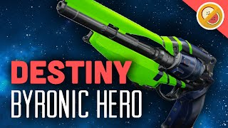 getlinkyoutube.com-DESTINY Byronic Hero Legendary Hand Cannon Review (The Taken King)
