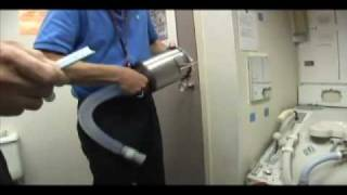 getlinkyoutube.com-Shuttle's Toilet Requires Special Training