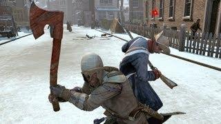 getlinkyoutube.com-Assassin's Creed 3 Advanced Fighting