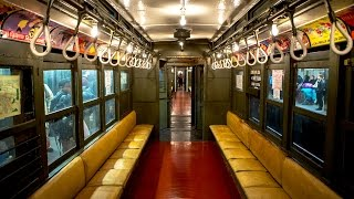 Here's What It's Like To Ride In A Vintage New York City Subway Train