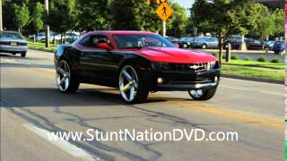 "getlinkyoutube.com-- Chevy Camaro On 26"" iRocs | #StuntNationDVD"