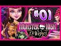 ☆ Monster High: 13 Wishes Walkthrough Part 1 Wii, WiiU, 3DS Full Gameplay ☆