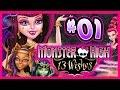 ☆ Monster High: 13 Wishes Walkthrough Part 1 Wii, WiiU, 3DS Full Gameplay ☆