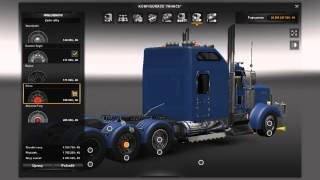 getlinkyoutube.com-[ETS2]Euro Truck Simulator 2 Kenworth W900L + Sound Interior + Trailer