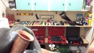 getlinkyoutube.com-Como flangear tubos de cobre. Instalação de ar condicionado