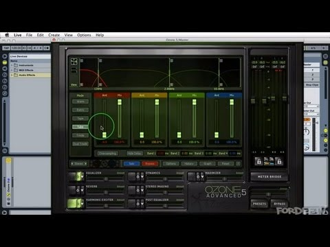 Mastering Tutorial: iZotope Ozone 5 EQ & Harmonic Exciter - Part 2
