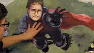 getlinkyoutube.com-Paint A Face From Memory - Harry Potter