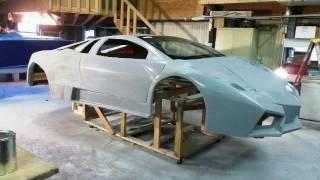getlinkyoutube.com-Two Lamborghini Reventon Replicas Coming Soon.  Lamborghini Kit Car Builds
