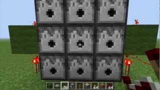 getlinkyoutube.com-Minecraft: 3×3 Dispenser Machine Gun