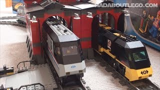getlinkyoutube.com-LEGO TRAIN ENGINE SHED 10027