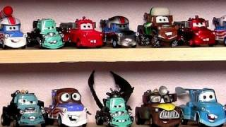 getlinkyoutube.com-400 Disney Pixar Cars 2 Diecasts + Planes Cars Toons My Entire Complete Display collection toys